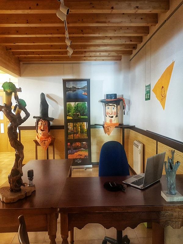 Interior Oficina Turismo Boñar