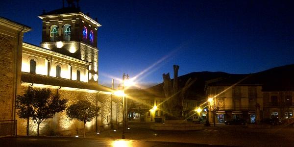 Plaza el Negrillón - Boñar
