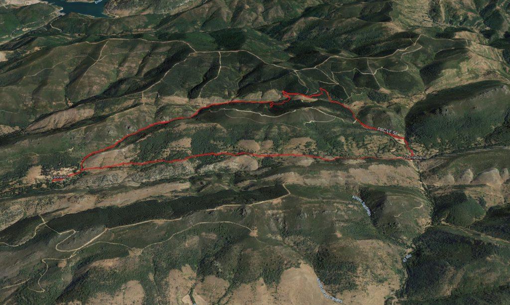 Ruta PRC-LE 58