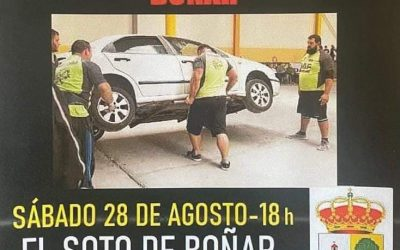 Los hombres más fuertes de España en Boñar