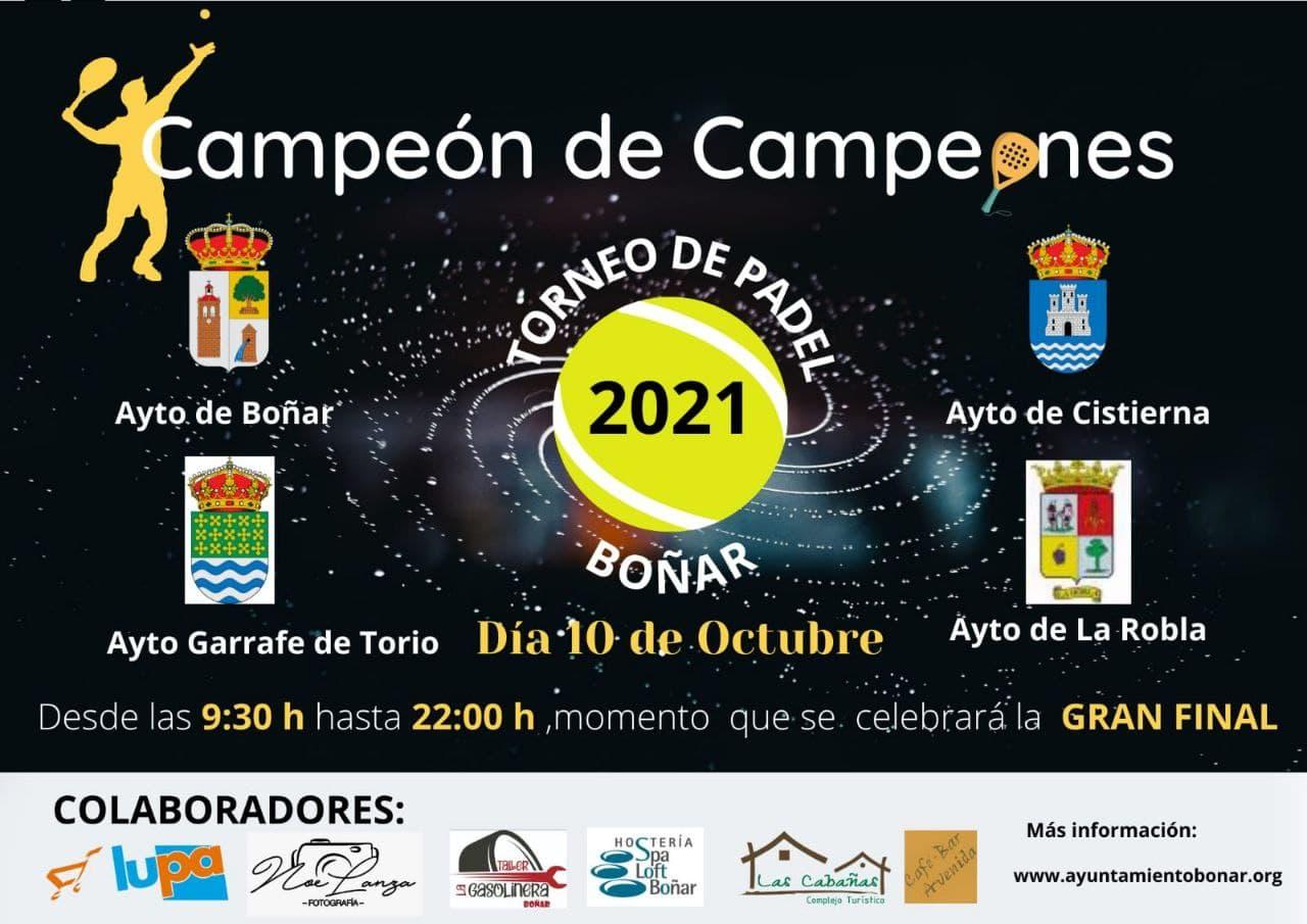 Campeón de Campeones - Torneo de Pádel