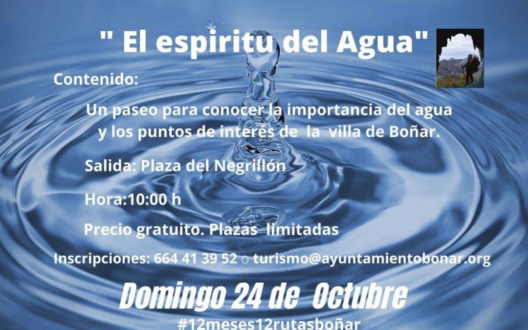 El Espíritu del Agua – Octubre 2021
